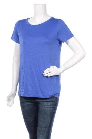 Дамска тениска Minimum, Размер S, Цвят Син, 70% модал, 30% полиестер, Цена 51,35лв.