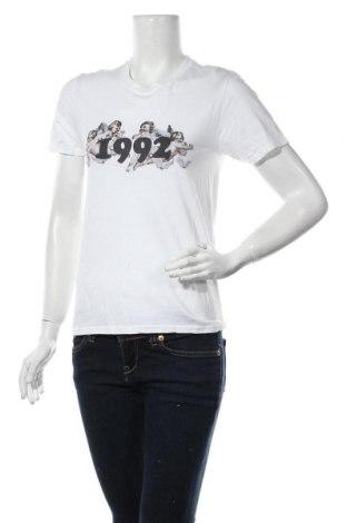 Дамска тениска Missguided, Размер XXS, Цвят Бял, Памук, Цена 21,42лв.