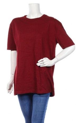 Дамска тениска Pull&Bear, Размер S, Цвят Червен, Памук, Цена 18,20лв.