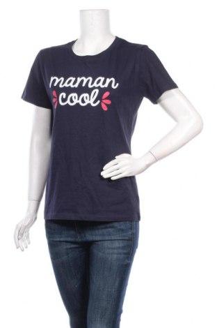 Дамска тениска Sol's, Размер XL, Цвят Син, Памук, Цена 17,55лв.