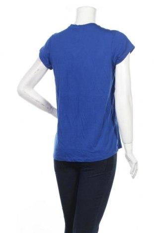 Дамска тениска Spyder, Размер M, Цвят Син, 60% памук, 40% полиестер, Цена 38,35лв.