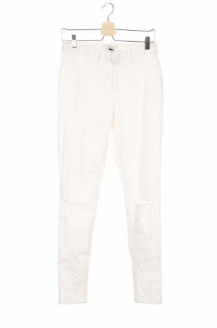 Γυναικείο Τζίν Dorothy Perkins, Μέγεθος M, Χρώμα Λευκό, 98% βαμβάκι, 2% ελαστάνη, Τιμή 5,81€