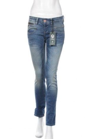 Дамски дънки Freeman T. Porter, Размер S, Цвят Син, 92% памук, 6% други нишки, 2% еластан, Цена 52,15лв.