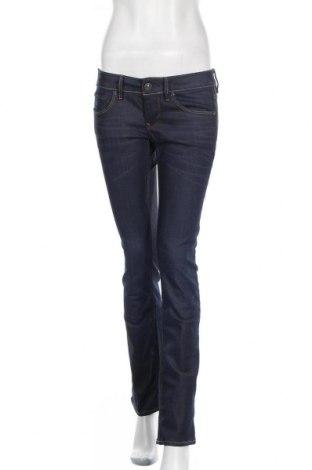 Дамски дънки G-Star Raw, Размер M, Цвят Син, 98% памук, 2% еластан, Цена 116,07лв.