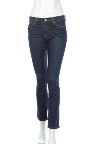 Дамски дънки Lucky Brand, Размер S, Цвят Син, 99% памук, 1% еластан, Цена 21,95лв.