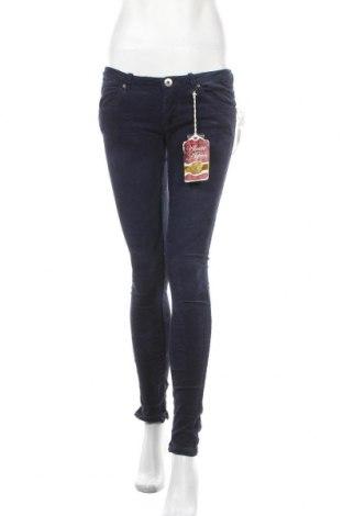 Γυναικείο κοτλέ παντελόνι Alcott, Μέγεθος M, Χρώμα Μπλέ, 97% βαμβάκι, 3% ελαστάνη, Τιμή 23,97€