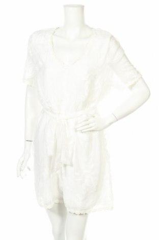 Дамски гащеризон Glamorous, Размер XL, Цвят Бял, Полиестер, Цена 23,56лв.
