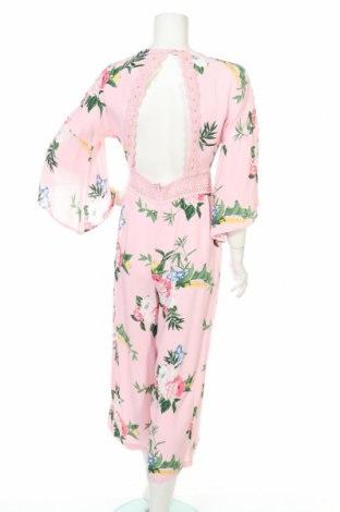 Дамски гащеризон Miss Selfridge, Размер S, Цвят Розов, Вискоза, Цена 15,64лв.