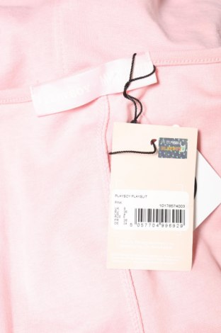 Дамски гащеризон Missguided, Размер S, Цвят Розов, 50% полиестер, 45% памук, 5% еластан, Цена 32,16лв.