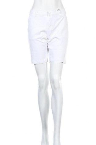 Pantaloni scurți de femei, Mărime M, Culoare Alb, 98% bumbac, 2% elastan, Preț 32,48 Lei