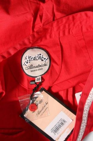 Γυναικείο κοντό παντελόνι Almatrichi, Μέγεθος M, Χρώμα Κόκκινο, 97% βαμβάκι, 3% ελαστάνη, Τιμή 22,94€