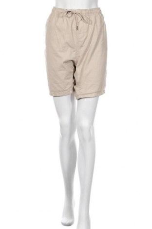 Γυναικείο κοντό παντελόνι Brave Soul, Μέγεθος 3XL, Χρώμα  Μπέζ, Βαμβάκι, Τιμή 12,99€