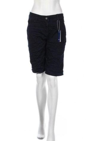 Γυναικείο κοντό παντελόνι Cecil, Μέγεθος XL, Χρώμα Μπλέ, 68% βαμβάκι, 30% πολυεστέρας, 2% ελαστάνη, Τιμή 10,64€