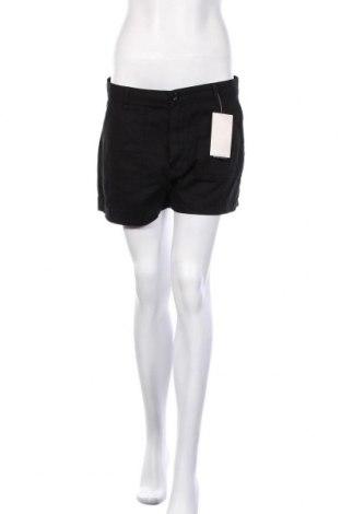 Γυναικείο κοντό παντελόνι Defacto, Μέγεθος M, Χρώμα Μαύρο, Βαμβάκι, Τιμή 10,89€