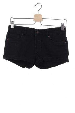 Γυναικείο κοντό παντελόνι Denim Co, Μέγεθος XS, Χρώμα Μαύρο, Τιμή 6,43€