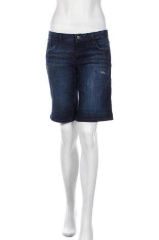 Pantaloni scurți de femei Edc By Esprit, Mărime M, Culoare Albastru, 98% bumbac, 2% elastan, Preț 51,58 Lei