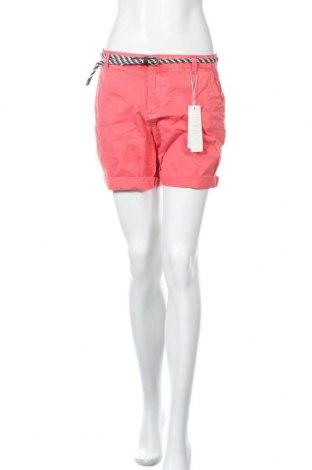 Γυναικείο κοντό παντελόνι Esprit, Μέγεθος S, Χρώμα Ρόζ , Βαμβάκι, Τιμή 15,21€