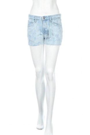 Γυναικείο κοντό παντελόνι Frame, Μέγεθος XS, Χρώμα Μπλέ, 97% βαμβάκι, 2% πολυεστέρας, 1% ελαστάνη, Τιμή 39,80€