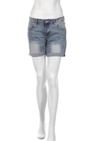 Дамски къс панталон Garcia Jeans, Размер M, Цвят Син, 99% памук, 1% еластан, Цена 41,30лв.