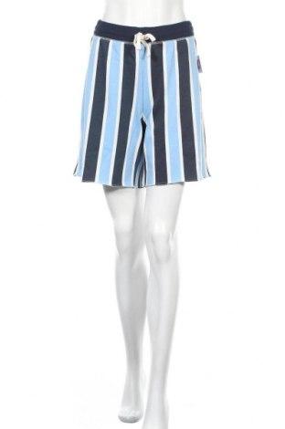Дамски къс панталон Juicy Couture, Размер L, Цвят Син, 60% памук, 40% полиестер, Цена 57,20лв.