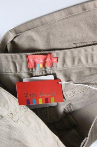 Γυναικείο κοντό παντελόνι Little Marcel, Μέγεθος L, Χρώμα  Μπέζ, 98% βαμβάκι, 2% ελαστάνη, Τιμή 14,07€