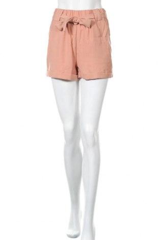 Γυναικείο κοντό παντελόνι Moves by Minimum, Μέγεθος XS, Χρώμα  Μπέζ, Πολυεστέρας, Τιμή 19,56€