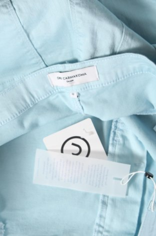 Γυναικείο κοντό παντελόνι Only Carmakoma, Μέγεθος XXL, Χρώμα Μπλέ, 65% βαμβάκι, 33% μοντάλ, 2% ελαστάνη, Τιμή 15,31€