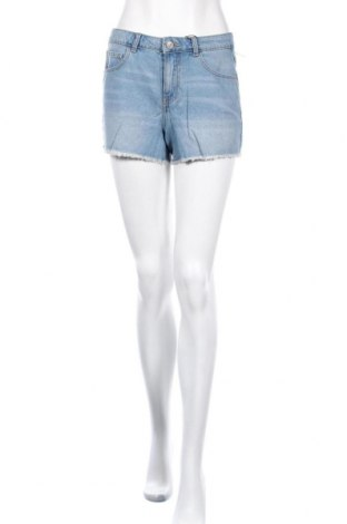 Γυναικείο κοντό παντελόνι Pieces, Μέγεθος S, Χρώμα Μπλέ, Βαμβάκι, Τιμή 14,23€