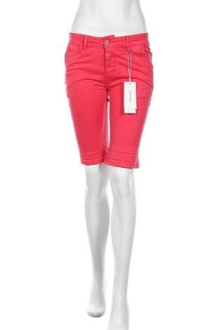 Γυναικείο κοντό παντελόνι Timezone, Μέγεθος S, Χρώμα Ρόζ , 98% βαμβάκι, 2% ελαστάνη, Τιμή 22,41€