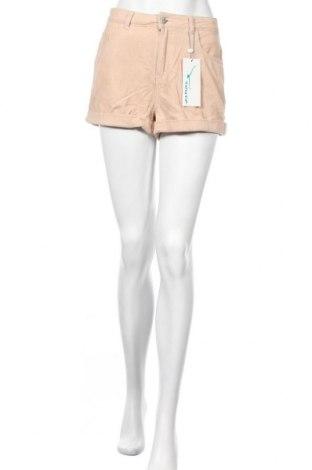 Дамски къс панталон Twintip, Размер S, Цвят Бежов, Памук, Цена 28,60лв.
