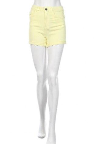 Dámské kraťasy  Urban Classics, Velikost S, Barva Žlutá, 98% bavlna, 2% elastan, Cena  167,00Kč