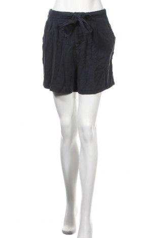 Pantaloni scurți de femei Vero Moda, Mărime M, Culoare Albastru, Lyocell, Preț 37,07 Lei