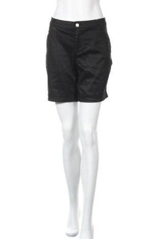 Γυναικείο κοντό παντελόνι Vila, Μέγεθος M, Χρώμα Μαύρο, 58% lyocell, 40% βισκόζη, 2% ελαστάνη, Τιμή 19,77€