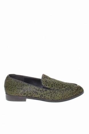 Γυναικεία παπούτσια Reserved, Μέγεθος 36, Χρώμα Πράσινο, Φυσική τρίχα, Τιμή 29,78€