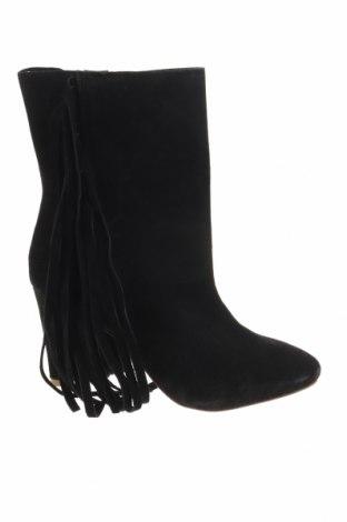 Γυναικεία μποτάκια Reserved, Μέγεθος 41, Χρώμα Μαύρο, Φυσικό σουέτ, Τιμή 31,83€
