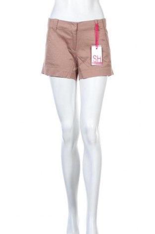 Дамски панталон Silvian Heach, Размер M, Цвят Кафяв, 96% памук, 4% еластан, Цена 12,90лв.