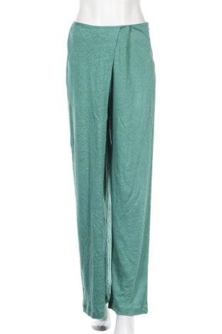 Γυναικείο παντελόνι Chacok, Μέγεθος M, Χρώμα Πράσινο, Λινό, Τιμή 69,20€