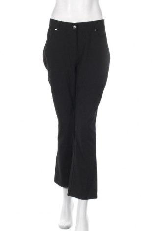 Дамски панталон Clockhouse, Размер M, Цвят Черен, 62% полиестер, 33% вискоза, 5% еластан, Цена 8,46лв.