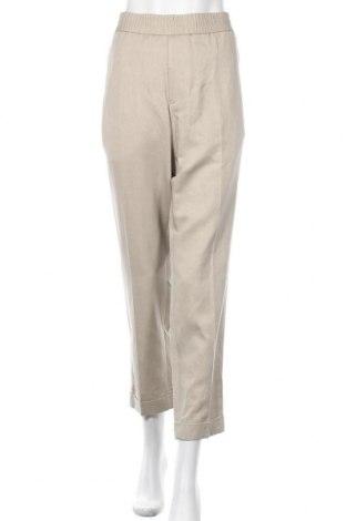 Γυναικείο παντελόνι Filippa K, Μέγεθος XXL, Χρώμα Καφέ, 40% λινό, 38% lyocell, 22% βαμβάκι, Τιμή 70,02€