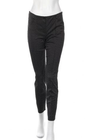 Дамски панталон Gerry Weber, Размер S, Цвят Черен, 54% вискоза, 29% памук, 14% полиестер, 3% еластан, Цена 13,23лв.