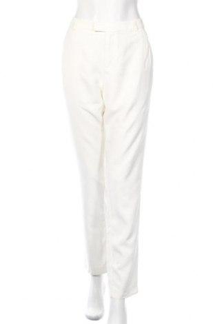 Дамски панталон IKKS, Размер L, Цвят Бял, Вискоза, Цена 31,60лв.