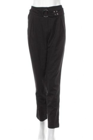 Дамски панталон La Mode Est A Vous, Размер L, Цвят Черен, 87% полиестер, 13% еластан, Цена 51,35лв.