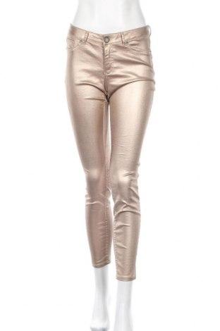 Дамски панталон Laura Scott, Размер S, Цвят Бежов, 66% памук, 31% полиестер, 3% еластан, Цена 26,93лв.