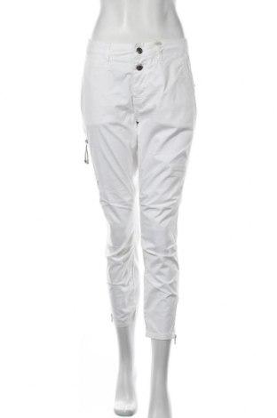 Γυναικείο παντελόνι MOS MOSH, Μέγεθος L, Χρώμα Λευκό, 97% βαμβάκι, 3% ελαστάνη, Τιμή 63,59€