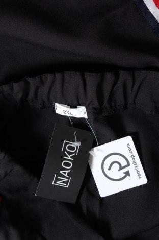 Дамски панталон Naoko, Размер XXL, Цвят Черен, 60% полиестер, 40% вискоза, Цена 51,75лв.