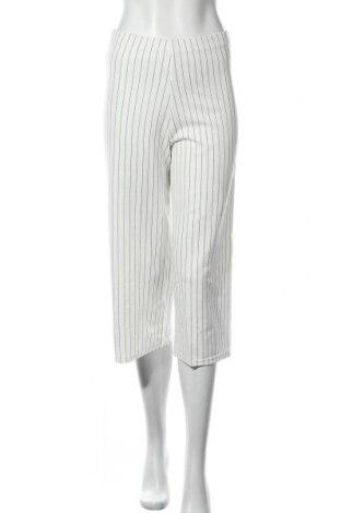 Γυναικείο παντελόνι New Look, Μέγεθος S, Χρώμα Λευκό, 96% πολυεστέρας, 4% ελαστάνη, Τιμή 7,82€