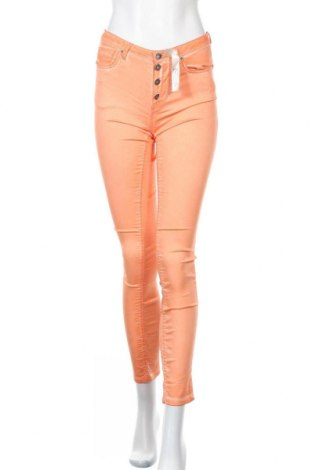Дамски панталон So Soon by Women dept, Размер XS, Цвят Оранжев, 55% памук, 42% полиестер, 3% еластан, Цена 14,26лв.