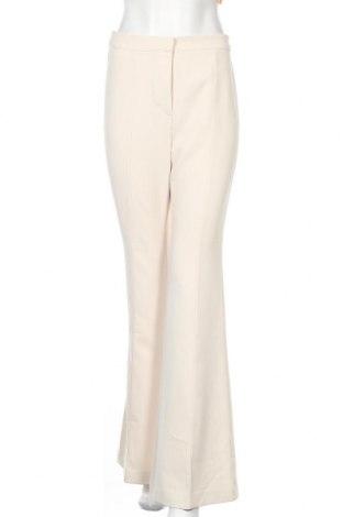 Дамски панталон Stefanel, Размер M, Цвят Бежов, 91% полиестер, 9% еластан, Цена 23,92лв.