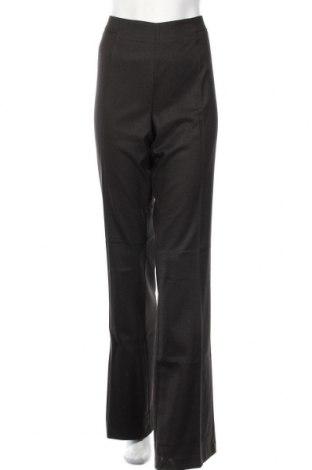 Дамски панталон Stefanel, Размер XL, Цвят Кафяв, 69% полиестер, 29% вискоза, 2% еластан, Цена 29,90лв.