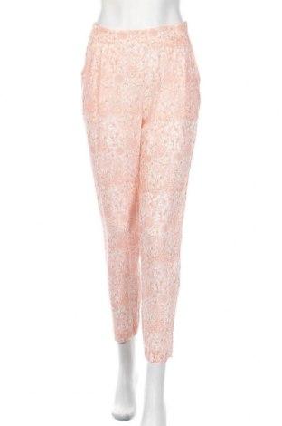 Дамски панталон Stefanel, Размер M, Цвят Бял, Вискоза, Цена 22,88лв.